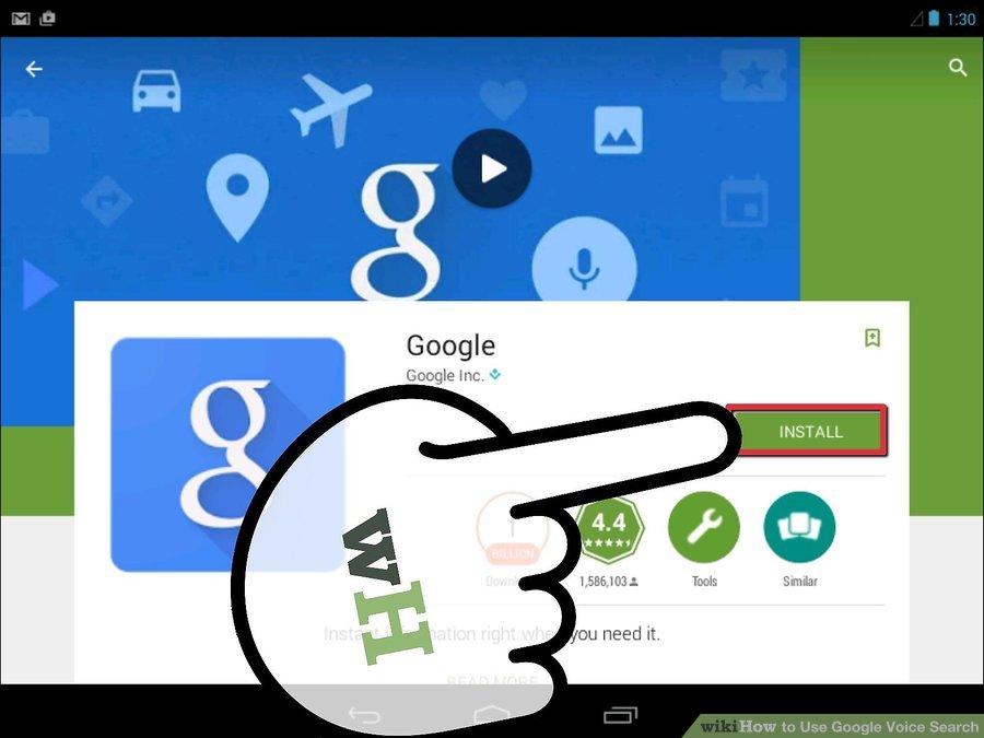 Google app نصب