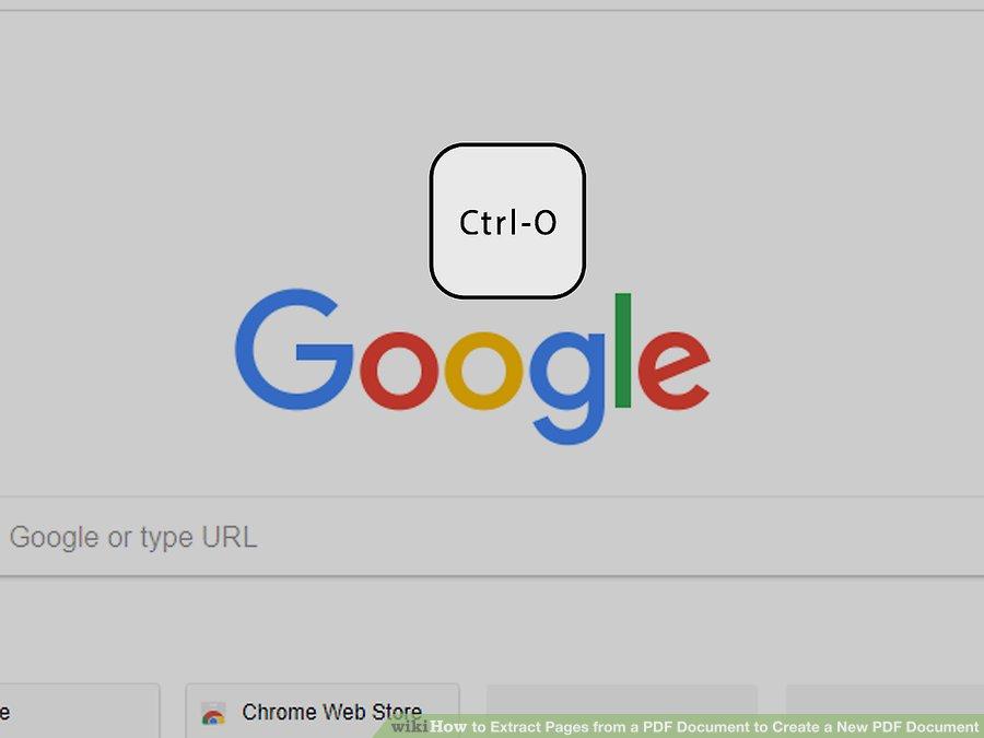 دکمه ی ctrl-o