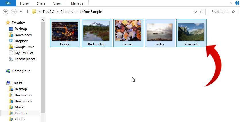 انتخاب عکس ها