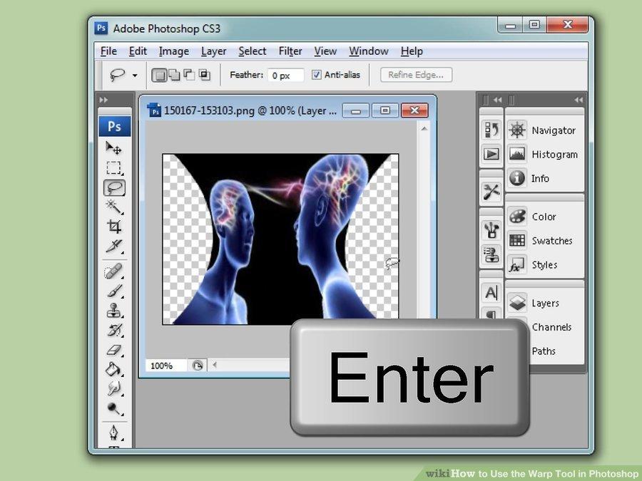 دکمه ی ↵ Enter
