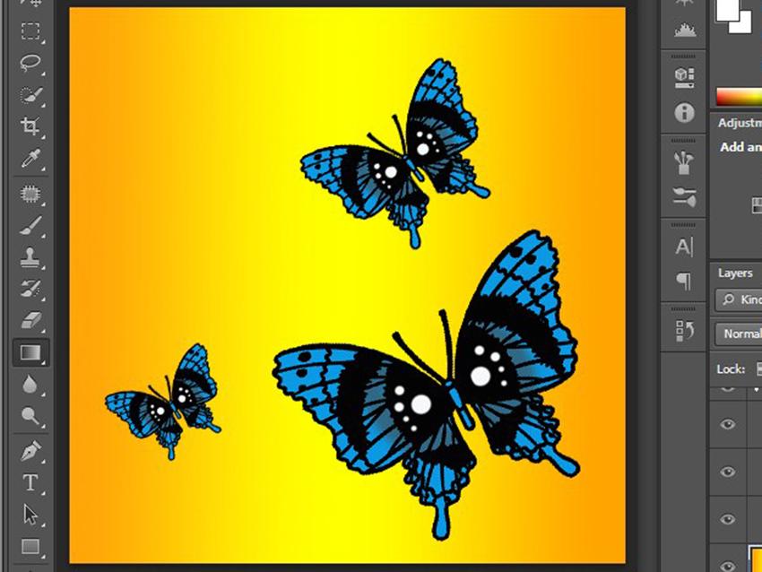 کپی کردن پروانه ها