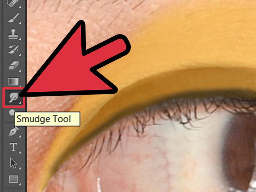 ابزار Smudge Tool