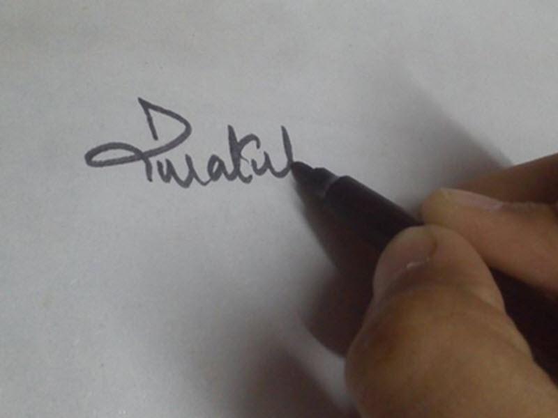 امضا کردن