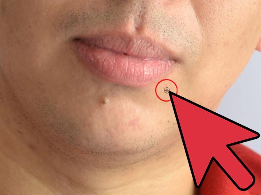 انتخاب قسمتی از پوست