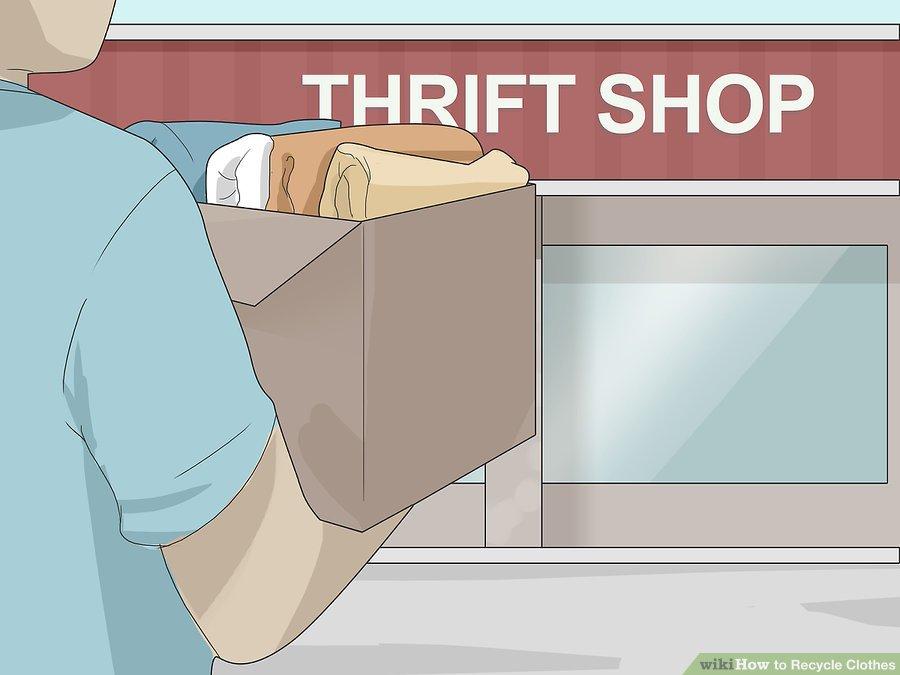 اهدا لباس به فروشگاه های دست دوم فروشی