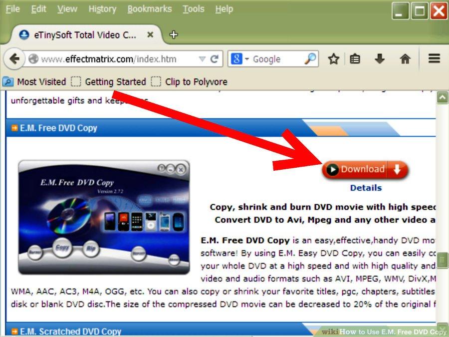 دانلود E.M. Free DVD Copy