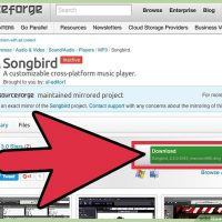 نحوه استفاده از Songbird
