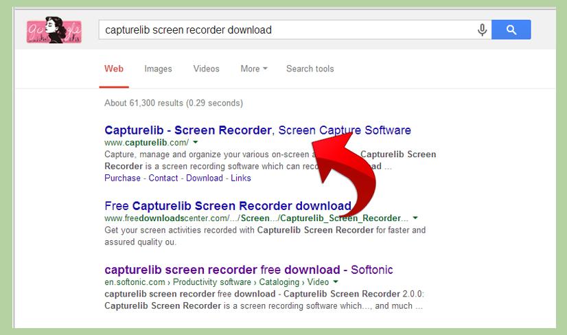 دانلود Capturelib Screen Record