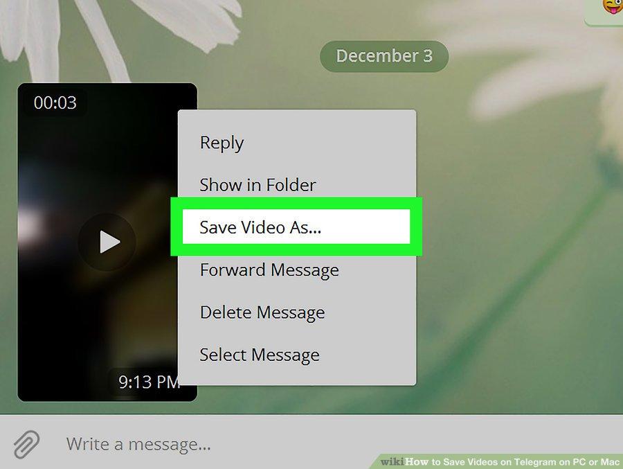 گزینه Save File As