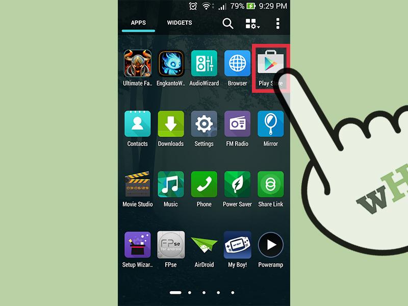 برنامه ی Google Play Store