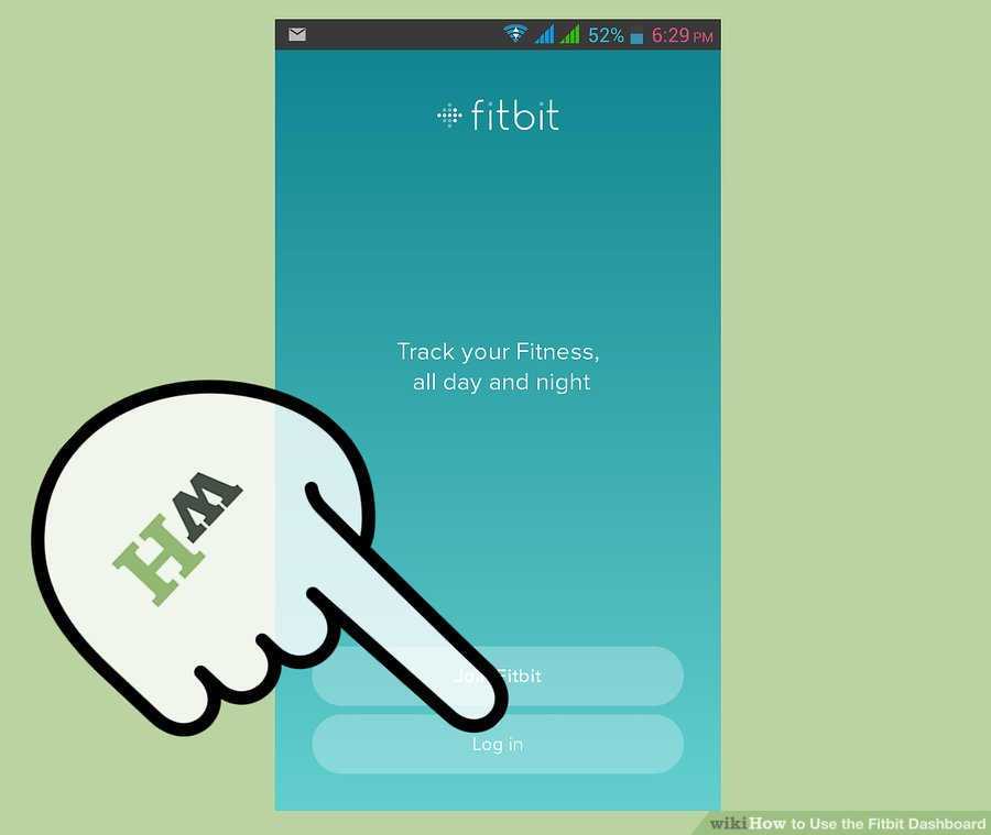 برنامه Fitbit