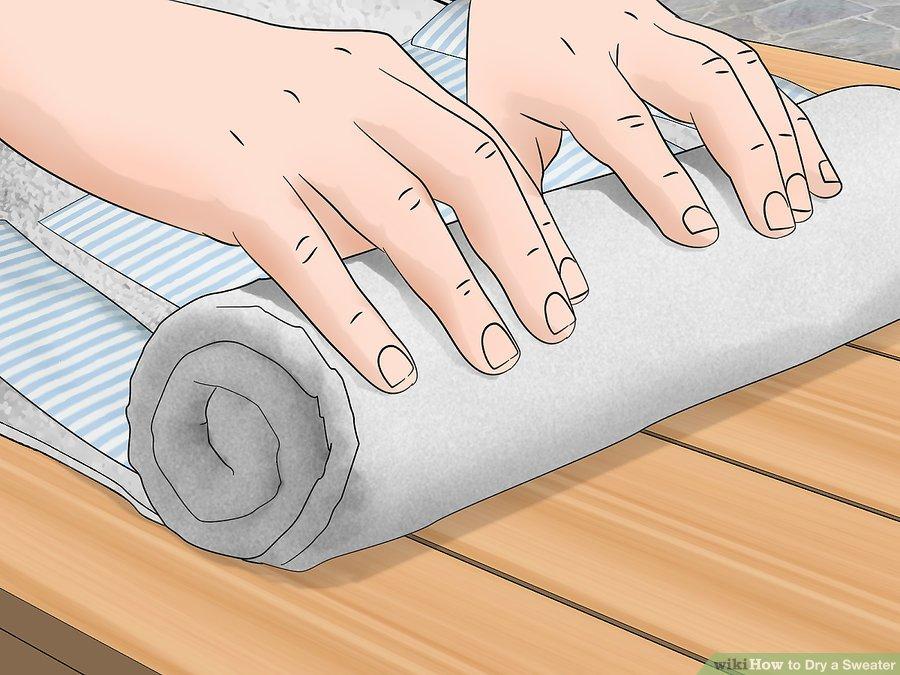 چگونه یک ژاکت را سریعا خشک کنیم