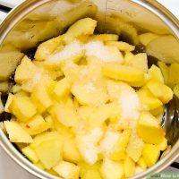 طرز تهیه تارت سیب ترد