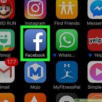 نحوه مخفی کردن عکس های Timeline در فیسبوک ( از طریق موبایل )