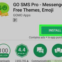 چگونه پیام ها با استفاده از GO SMS Pro رمز دار کنیم