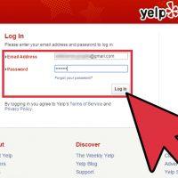 نحوه تغییر موقعیت مکانی خود در Yelp