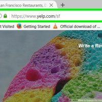 نحوه تغییر زبان لینک های Yelp