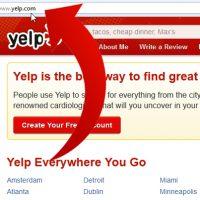 نحوه تغییر آدرس ایمیل در Yelp