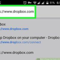 چگونه ایمیل خود را در Dropbox از طریق Android تغییر دهیم