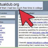نحوه ادغام فایل های AVI از طریق VirtualDub