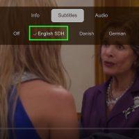 چگونه در Netflix زیر نویس را فعال کنیم ( از طریقApple TV  )