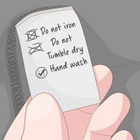 نحوه جلوگیری از رنگ رفتگی لباس مشکی هنگام شست و شو