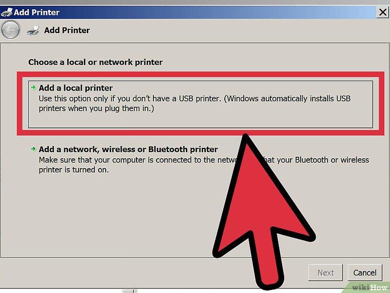 نحوه شبکه کردن پرینتر در ویندوز Vista