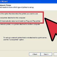 نحوه شبکه کردن پرینتر در ویندوز XP