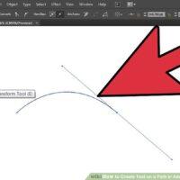 نحوه ایجاد متن جهت دار در برنامه Adobe Illustrator (متن روی خط)