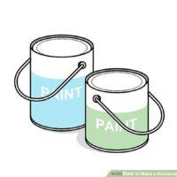 استفاده از سطل رنگ به عنوان وزنه در تمرینات ورزشی خانگی