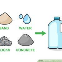 چگونه با ظرف شیر یک وزنه خانگی درست کنیم؟